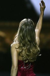 """.  07/05/2006 ♥ : Céline fêtait le 500ème fois du show """" A new day """" à Vegas"""