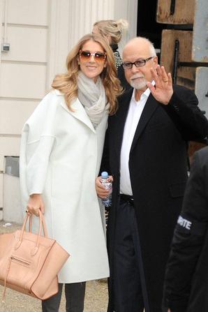 """.  27/11/2012 : Céline faisait de la promo pour son album """"Sans attendre""""."""