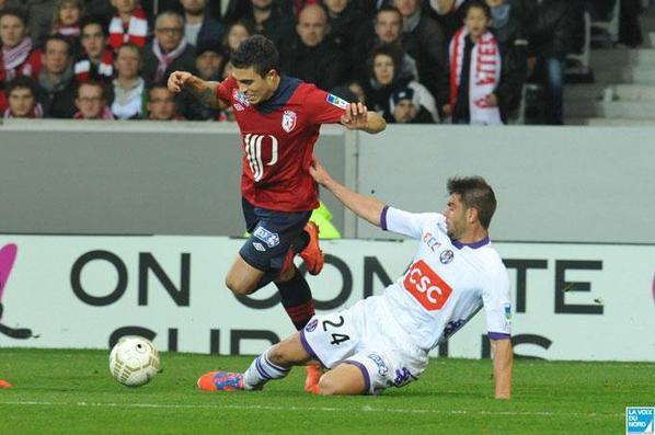 Photos de Ninkov lors du match Lille TFC du 30/10/2012