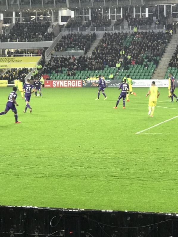 Photo perso et billet du match Nantes TFC du 04/11/2017