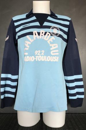 Mes deux maillots portés lors de la saison 1984 1985