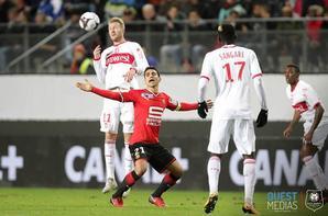 Photos d'Ola Toivonen durant le match Rennes TFC du 10/01/2018 en quart de finale CDL