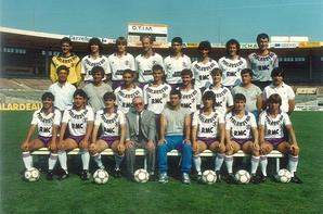 Photos des saisons 1986/1987 et 1987/1988