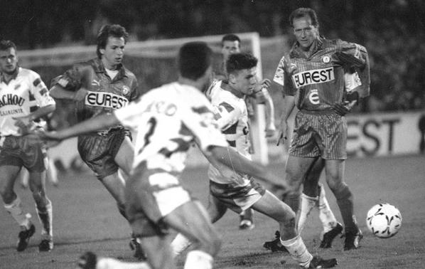 Photos du  match Caen TFC du 19/09/1992 (4 à 1)