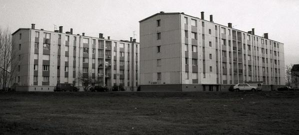 La Cité des Sables, La Riche. (Aujourd'hui démolie).