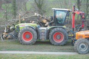 Broyage de bois avec paysandelasavoie