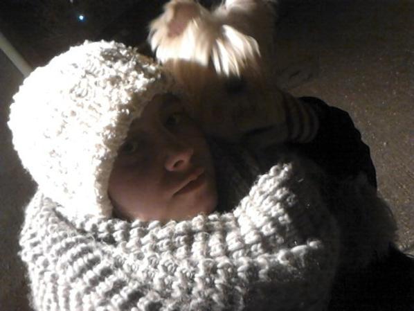 moi et ma chiene
