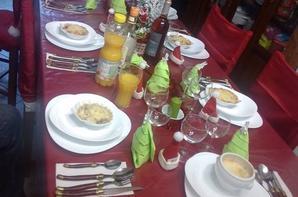 la table du 25 de MARINE trop belle