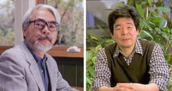 Hayao Myazaki et Isao Takahata