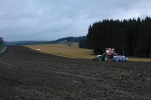 Plantage de maïs dans les Ardennes !