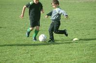 Mon fils Ryan au foot