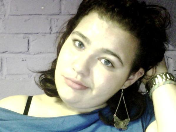 moi avec mes yeux bleu