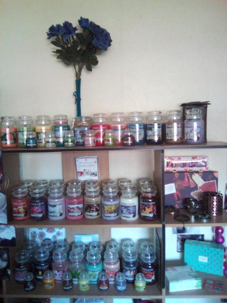 Ma collection de Bougie et accessoires Yankee Candle