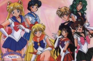 Sailor moon's Groupes