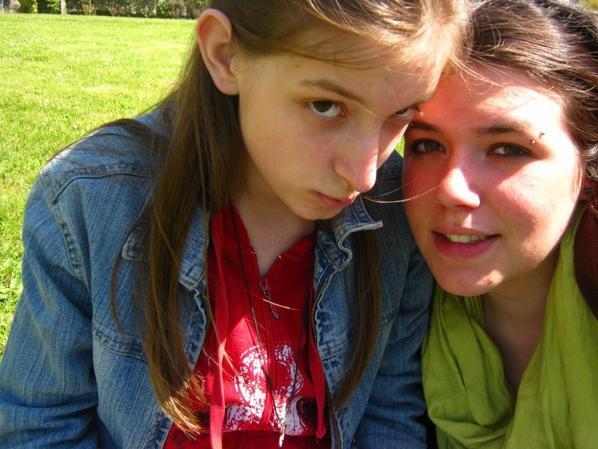 Elle et moi!! ♥