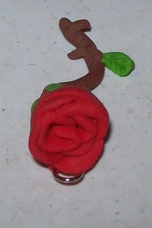 Une petite rose