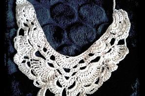 Parure bijoux au crochet
