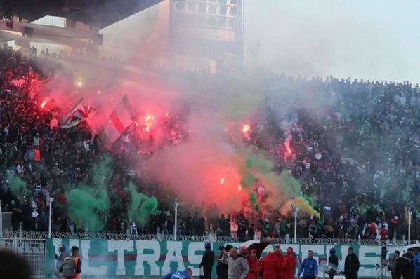Craquage Ultras Green Scorpions