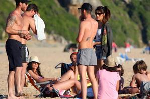 Sergio Ramos et Pilar Rubio en Vacances