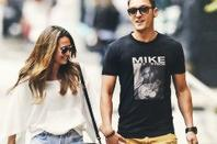 Mesut Ozil et Mandy Capristo a New York