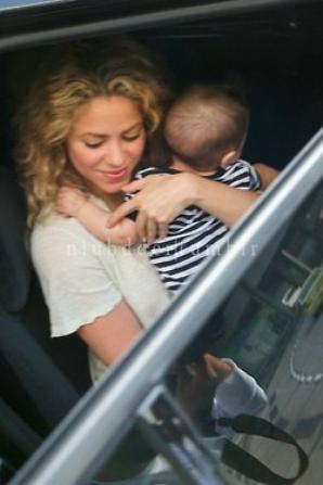 Shakira et Milan