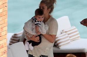 Shakira et Milan cette apres midi