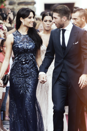 Sergio Ramos et Pilar Rubio le 06 - 07