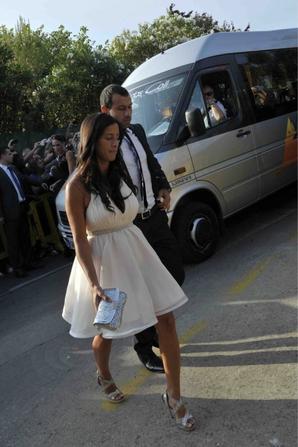 Toute les photos de Fernanda Mascherano au Mariage de Xavi