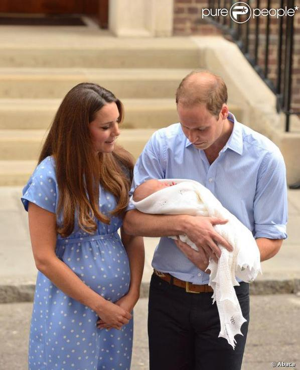 Kate Middleton, le Prince William et le bébé Royal