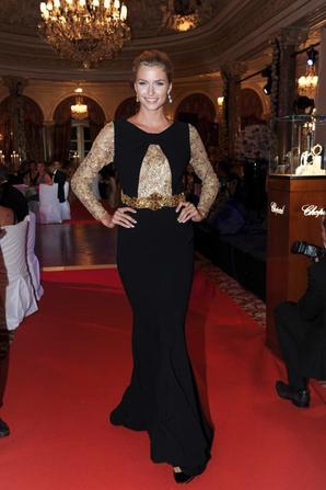 Lena Gercke pour Basler à Monte-Carlo le 04 - 08
