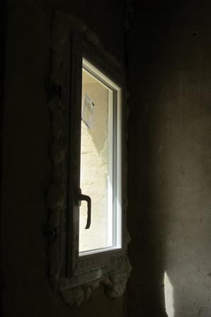 Pose des fenêtres