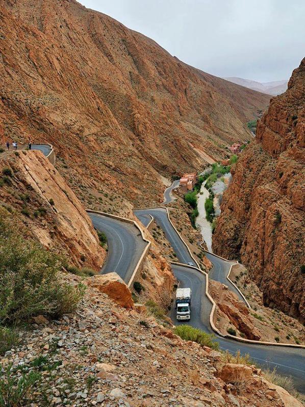 Boumalne Dades Sud Du Maroc