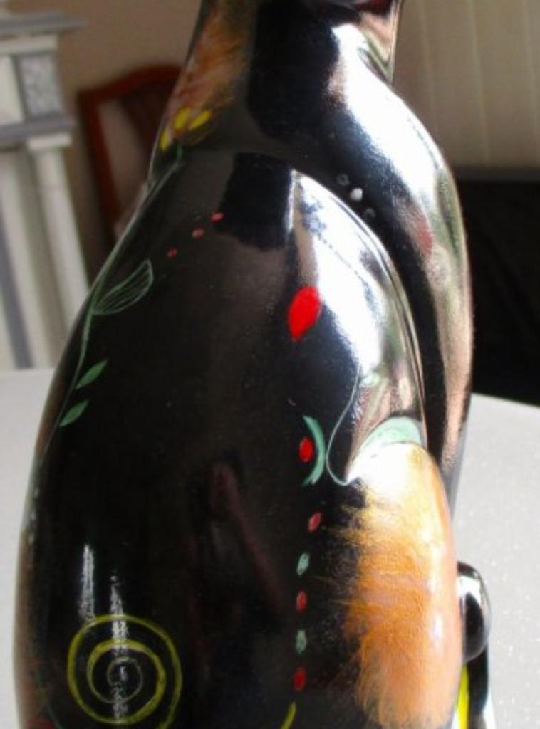Chat décoratif  ( vendu )