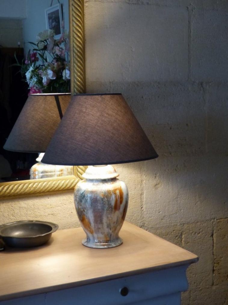 Lampe de chevet (v)