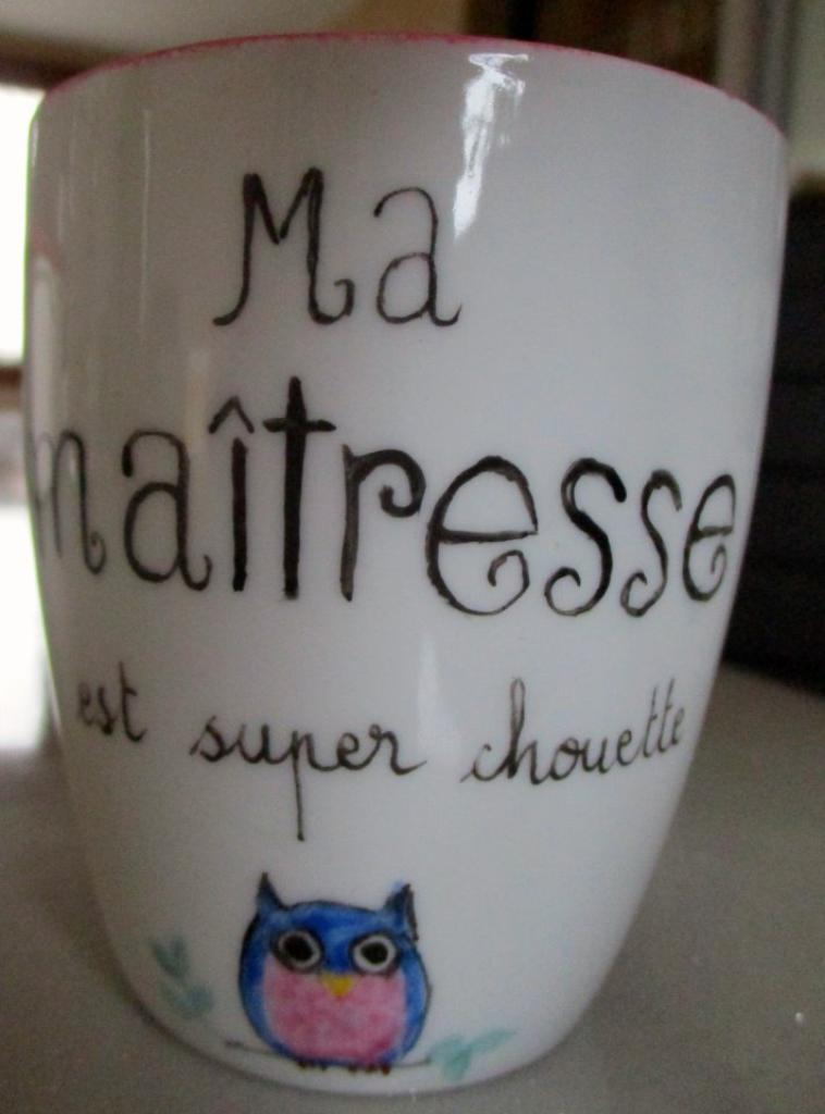 Mug pour ma maîtresse (V) de la part de Lilou