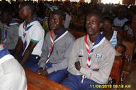 photo d'activite des scout catholique