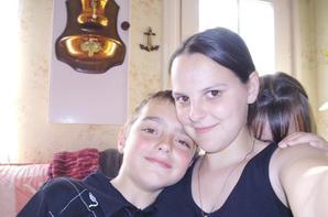 Mon Neuve Clément, ma nièce Léa et moi