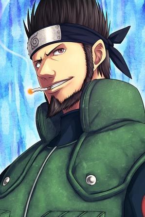 Asuma - Fumer