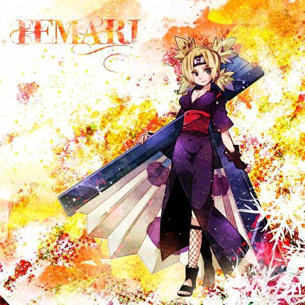 Temari - Eventail