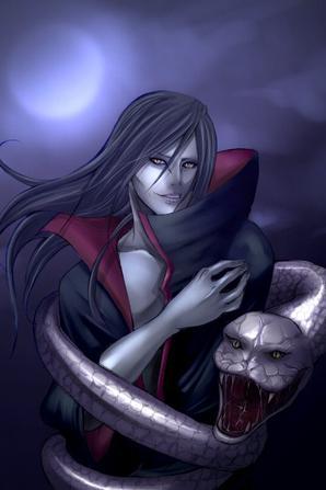 Orochimaru - Hebi