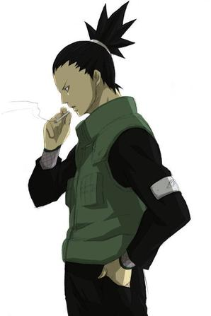 Shikamaru - Fumeur