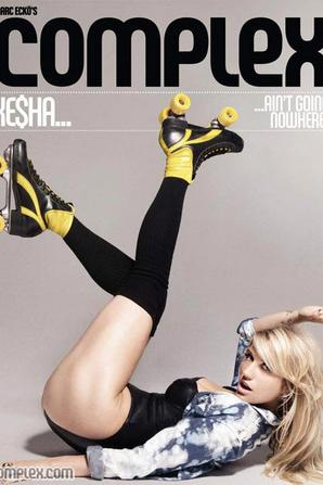 Ke$ha dans le Complex Magazine !