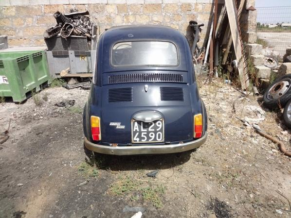 Acquisition de la Fiat 500 F