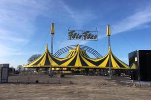 les cirques en europe nouveau chapiteau au cirque FLIC FLAC (allemagne) !!!!