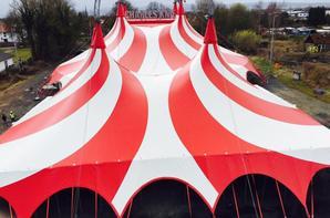 les cirques en europe nouveau chapiteau au cirque CHARLES KNIE (allemagne) !!!!