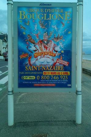 le cirque D HIVER BOUGLIONE ON TOUR bientot à st nazaire !!!!