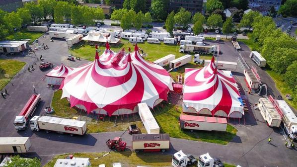le cirque allemand CHARLES KNIE à hagen !!!!