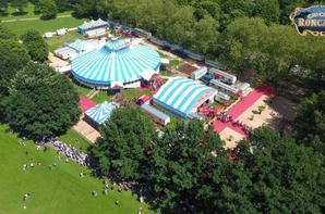 jolies vues aériennes du cirque RONCALLI à hambourg !!!!