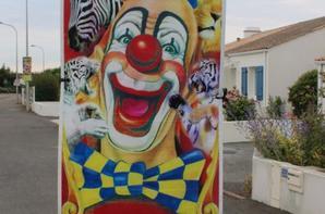 le cirque sebastien ZAVATTA s 'affiche à st gilles croix de vie !!!!