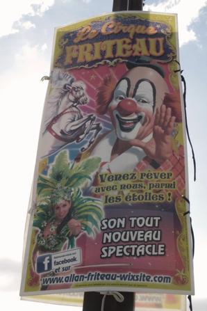 le cirque FRITEAU à aizenay !!!!